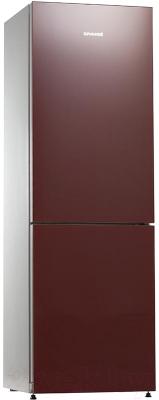 Холодильник с морозильником Snaige RF34NG-Z1AH27