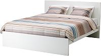Двуспальная кровать Ikea Мальм 992.110.46 -