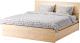 Каркас кровати Ikea Мальм 992.109.66 -