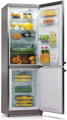 Холодильник с морозильником Snaige RF34NG-Z1CB27