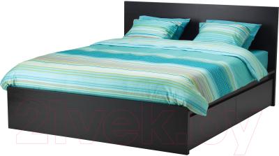 Ikea мальм 99211027 двуспальная кровать купить в минске