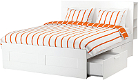 Полуторная кровать Ikea Бримнэс 992.107.25 -