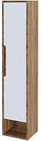 Шкаф-пенал для ванной Аква Родос Едда R / ОР0002531 (подвесной, севилья) -