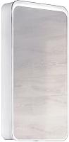 Шкаф с зеркалом для ванной Raval Pure 46 / Pur.03.46/W (с подсветкой) -