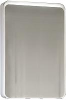 Шкаф с зеркалом для ванной Raval Pure 60 / Pur.03.60/W (с подсветкой) -