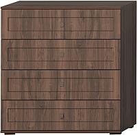 Комод Мебель-КМК Шарм 0722.1 (орех донской/орех экко классический) -