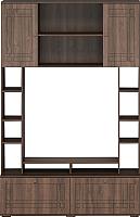 Стенка Мебель-КМК Шарм 0722.8 (орех донской/орех экко классический) -
