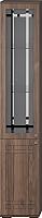Шкаф-пенал с витриной Мебель-КМК Шарм 1 0722.9 левый (орех донской/орех экко классический) -