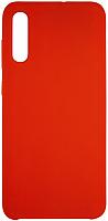Чехол-накладка Volare Rosso Suede для Galaxy A70 (2019) (красный) -