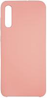 Чехол-накладка Volare Rosso Suede для Galaxy A70 (2019) (розовый песок) -