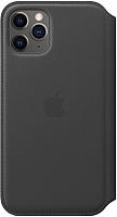 Чехол-книжка Apple Leather Folio для iPhone 11 Pro Black / MX062 -