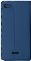 Чехол-книжка Volare Rosso Book для Redmi 6A (синий) -
