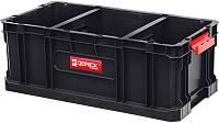 Ящик для инструментов QBrick System Two Box 200 Flex / SKRQBOXTWO2FCZAPG002 (черный) -