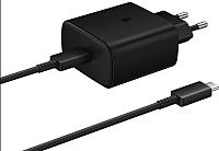 Зарядное устройство сетевое Samsung USB Type-C Power Delivery 45B / EP-TA845XBEGRU (черный) -