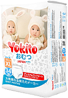 Подгузники-трусики Yokito XL 13-17кг (34шт) -