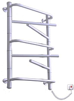 Полотенцесушитель электрический Элна Элна-7 Торцевой 80.5x43.5 (белый, правое подключение) -