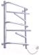 Полотенцесушитель электрический Элна Элна-7 Торцевой 80.5x43.5 (белый) -