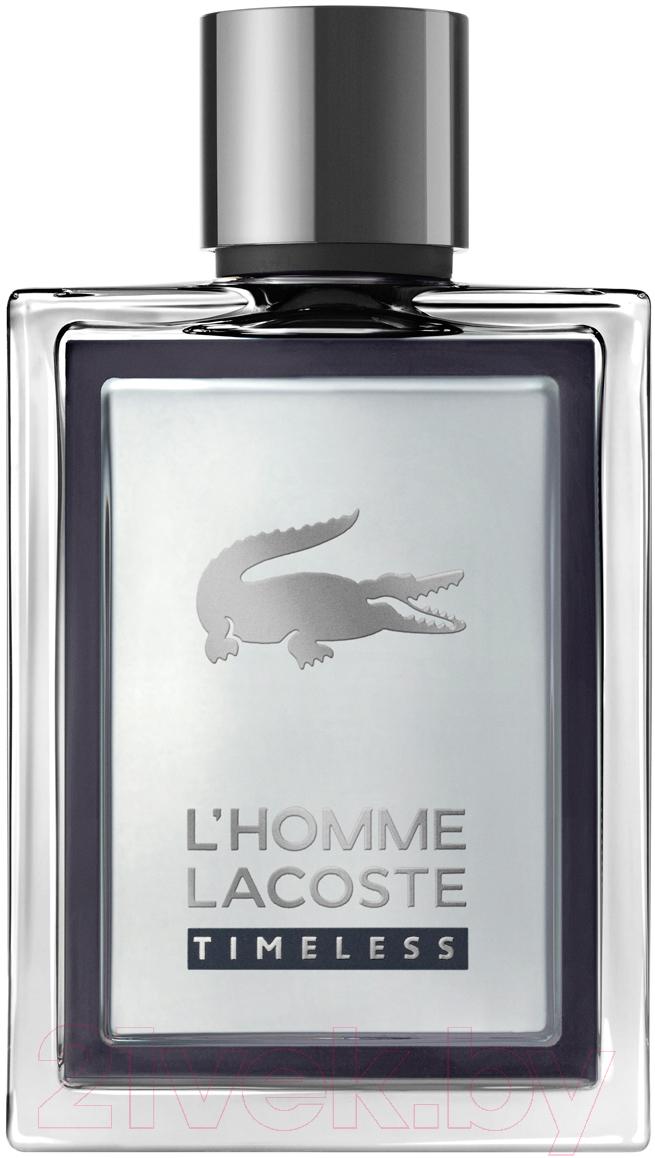 Купить Туалетная вода Lacoste, Timeless Pour Homme (100мл), Швейцария