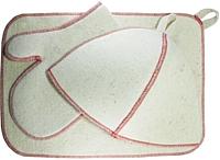 Набор текстиля для бани New Style 5015 -