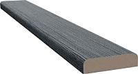 Притворная планка el'Porta Эко 3D МДФ 2000х30х8 (Grey) -