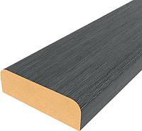 Притворная планка el'Porta Эко МДФ 2000x30x8 (Organic Oak) -