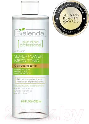 Тоник для лица Bielenda Skin Clinic Professional миндальная и лактобионовая кислота (200мл)