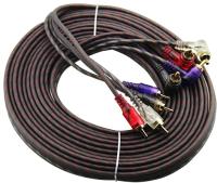 Межблочный кабель для автоакустики Урал Bulava 4RCA-BV5M -