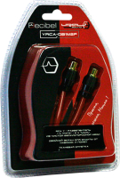 Межблочный кабель для автоакустики Урал RCA-DB1M2F -