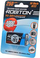 Аккумулятор Robiton 250MH9-1 BL1 (08801) -