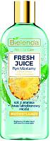 Мицеллярная вода Bielenda Fresh Juice осветляющая ананас (500мл) -