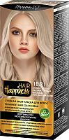 Крем-краска для волос Белита-М Hair Happiness стойкая тон № 10.21 (очень светлый перламутровый блондин) -