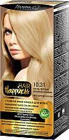 Крем-краска для волос Белита-М Hair Happiness Стойкая тон № 10.31 (очень светлый бежевый блондин) -