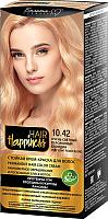 Крем-краска для волос Белита-М Hair Happiness стойкая тон № 10.42 (очень светлый персиковый блондин) -