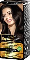 Крем-краска для волос Белита-М Hair Happiness стойкая тон № 4.1 (холодный шатен) -