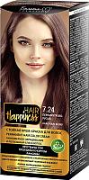 Крем-краска для волос Белита-М Hair Happiness стойкая тон № 7.24 (перламутрово-русый) -