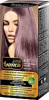 Крем-краска для волос Белита-М Hair Happiness стойкая тон № 8.2 (перламутровый блондин) -