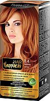 Крем-краска для волос Белита-М Hair Happiness стойкая тон № 8.4 (медный) -