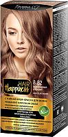 Крем-краска для волос Белита-М Hair Happiness стойкая тон № 8.82 (шоколадный блондин) -