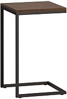 Приставной столик Loftyhome Бервин / BR020501 (коричневый) -