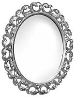 Зеркало интерьерное Мебель-КМК Искушение 1 0459.7 (белый/серебристый) -