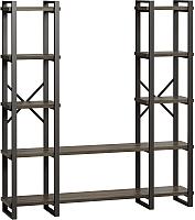 Стеллаж Loftyhome Лондейл 160.2 / LD010803 (серый) -