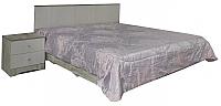 Двуспальная кровать Мебель-КМК 1600 Марсела 1 0682.10-1 (дуб юккон/дуб атланта) -