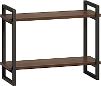 Полка Loftyhome Бервин 2 / BR030401 (коричневый) -