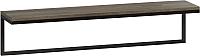 Полка Loftyhome Бервин 3 / BR030503 (серый) -
