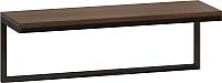 Полка Loftyhome Бервин 4 / BR030601 (коричневый) -