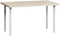 Обеденный стол Loftyhome Лондейл 2 / LD050204 (натуральный с белым основанием) -