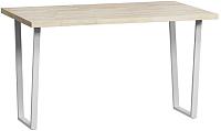 Обеденный стол Loftyhome Лондейл 3 / LD050304 (натуральный с белым основанием) -
