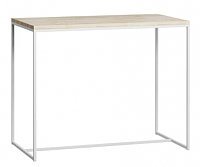 Барный стол Loftyhome Бервин / BR050104 (натуральный с белым основанием) -