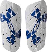 Щитки футбольные Under Armour Armour Flex / 1273609-094 (MD, белый/синий) -