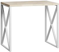 Барный стол Loftyhome Лондейл / LD050504 (натуральный с белым основанием) -